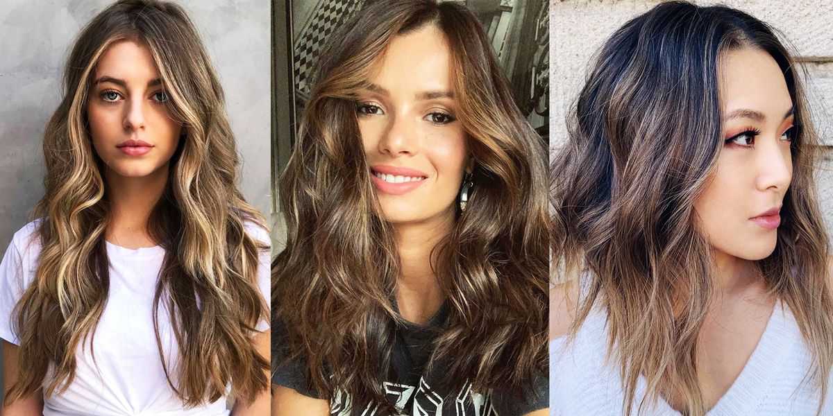 20 Best Brown Hair With Highlights Ideas for 2019 – Summer Hair Color Inspo