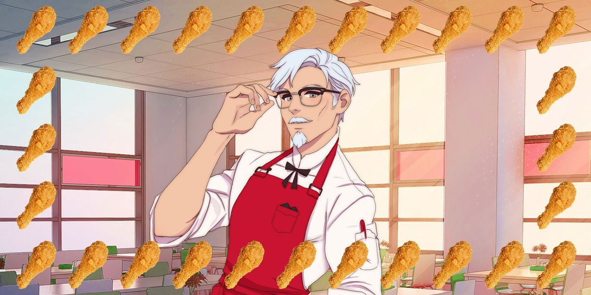 KFC Dating Simulator - Where to Play KFC Sexy Colonel Dating Game